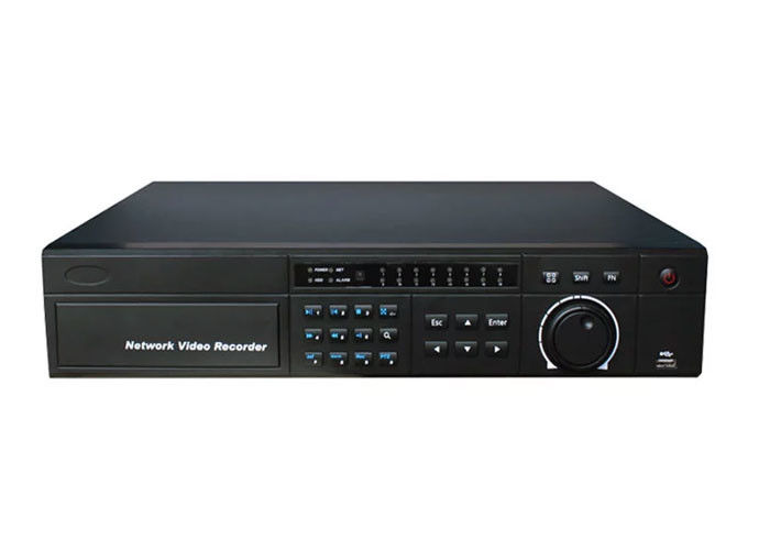 Deteksi Wajah NVR Network Video Recorder, Perekam Ip Nvr 16CH Multifungsi