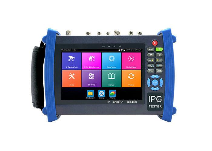 1 Channel 1080P HD CCTV Tester 7 Inch Cctv Test Monitor Untuk PTZ Controller