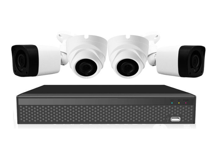 Tvi Cvi Full Hd 1080p Ahd Camera Kit Combo Dengan 4ch Real Time Embedded Linux Xvr